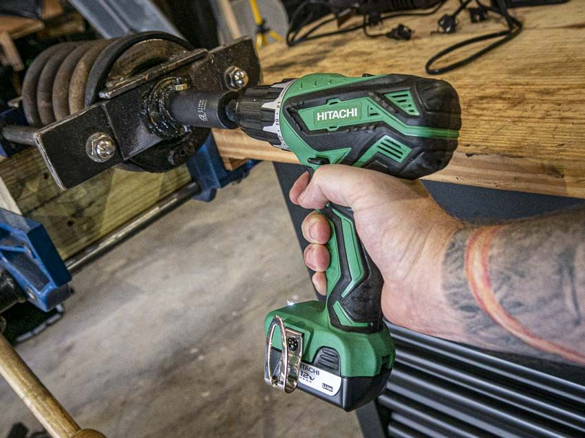 Metabo Hpt 12v Drill Review Hitachi Ds10dfl2 Drill Cordless Drill Reviews Cordless Drill
