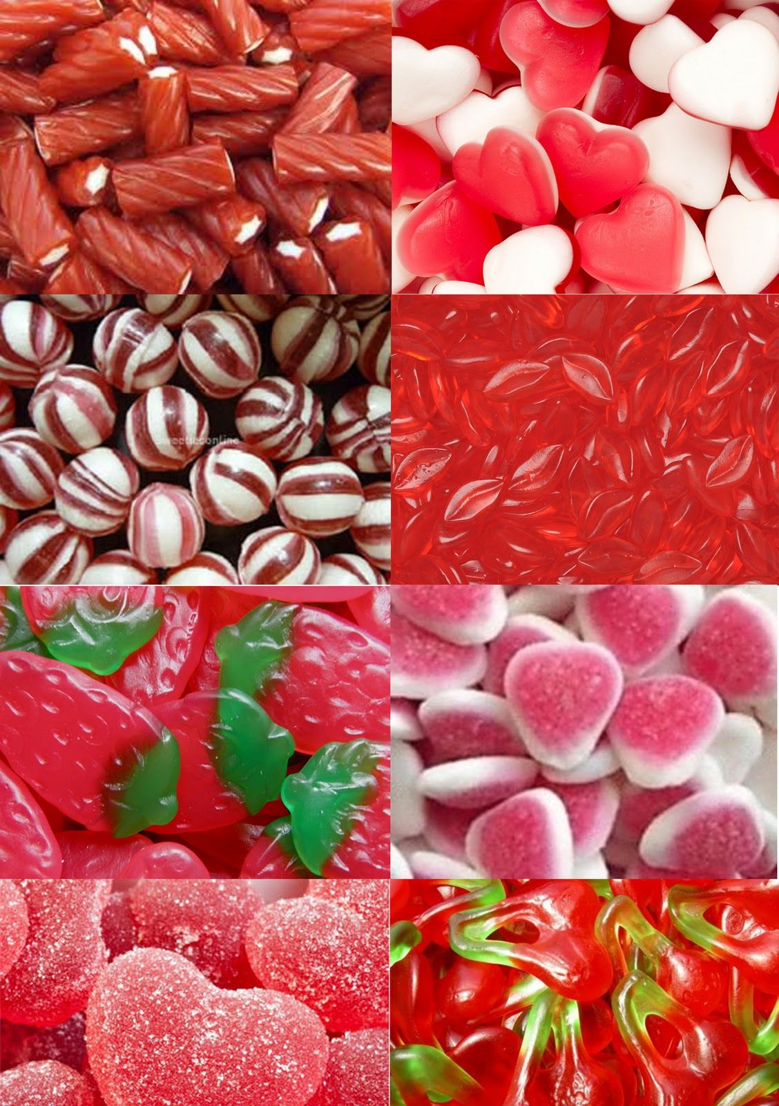 All Things Things That Are Red Red Red Candy Red Roses