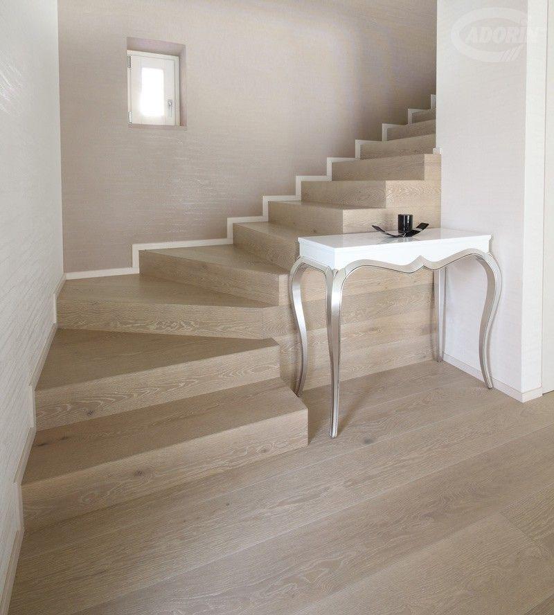 Pitturare una scala interna non è così semplice come si potrebbe pensare. Pietra Rovere Select Europeo Spazzolato Pavimenti In Legno Pavimenti Pavimenti In Legno Bianco