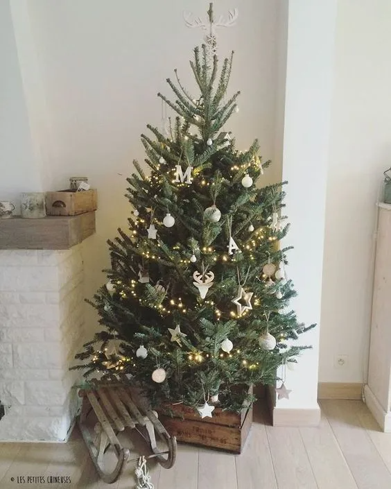 Small Yet Gorgeous Christmas Trees That'll Fit In Your Tiny Apartment