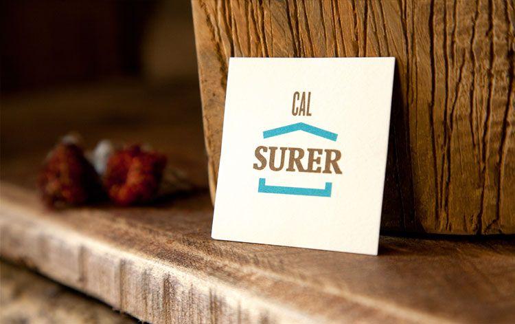 Logotip Cal Surer, NitisDesigns