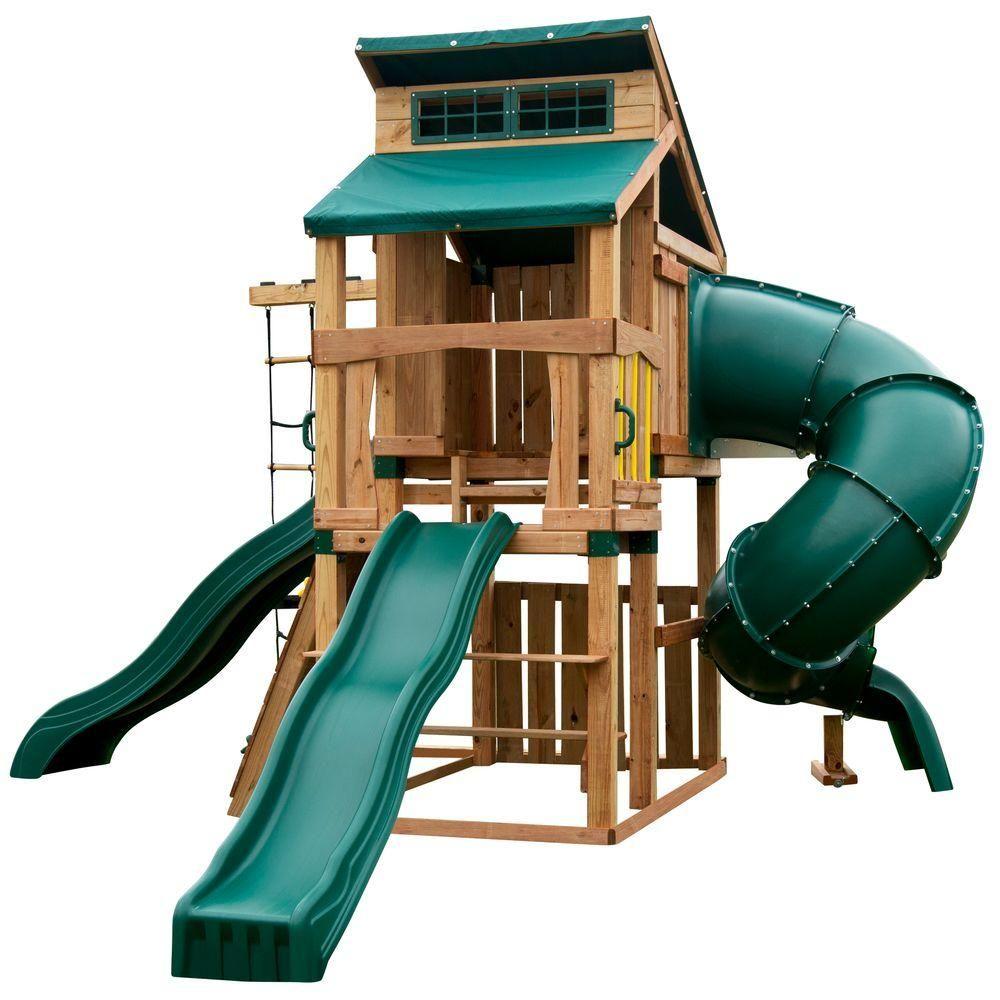 1400 00 swing n slide playsets hideaway clubhouse ultimate