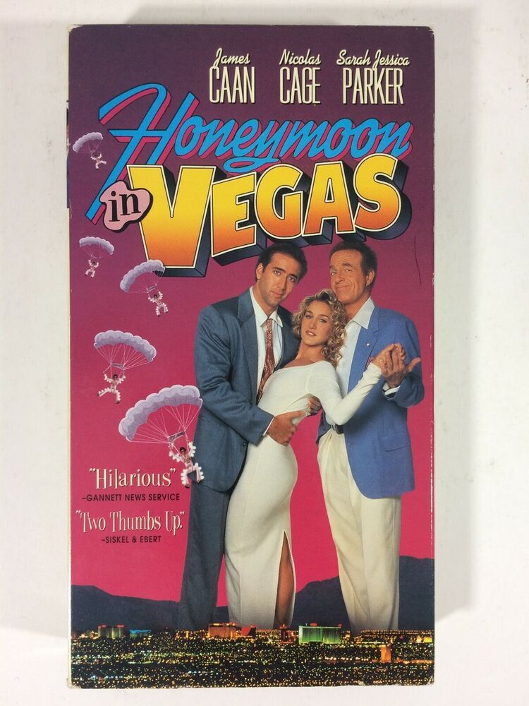Honeymoon In Vegas (VHS, 1993) Sarah Jessica Parker
