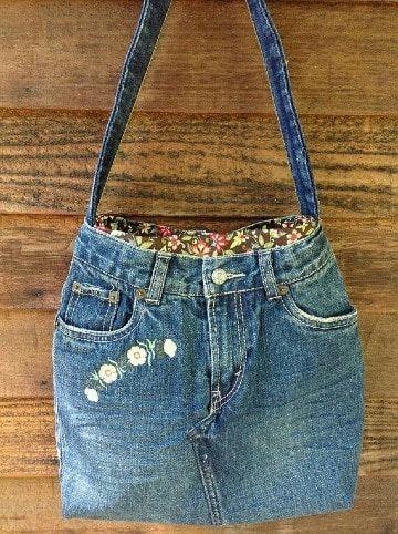 4 diseños para hacer carteras recicladas de jeans