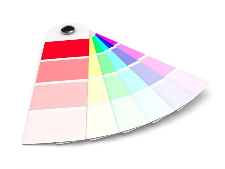 Color pallets make people happy #brightenup
