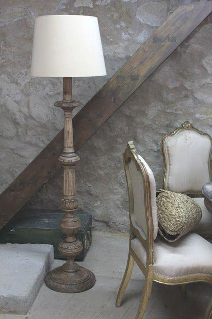 Renovando Una Lámpara Torneada Algo Anticuada Lámparas De Pie Antiguas Lámparas Restauradas Lampara De Pie Madera