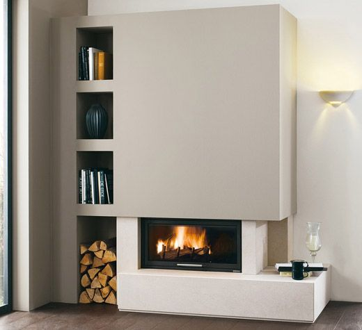 Fireplaces and stoves - Palazzetti | Arredamento sala con ...