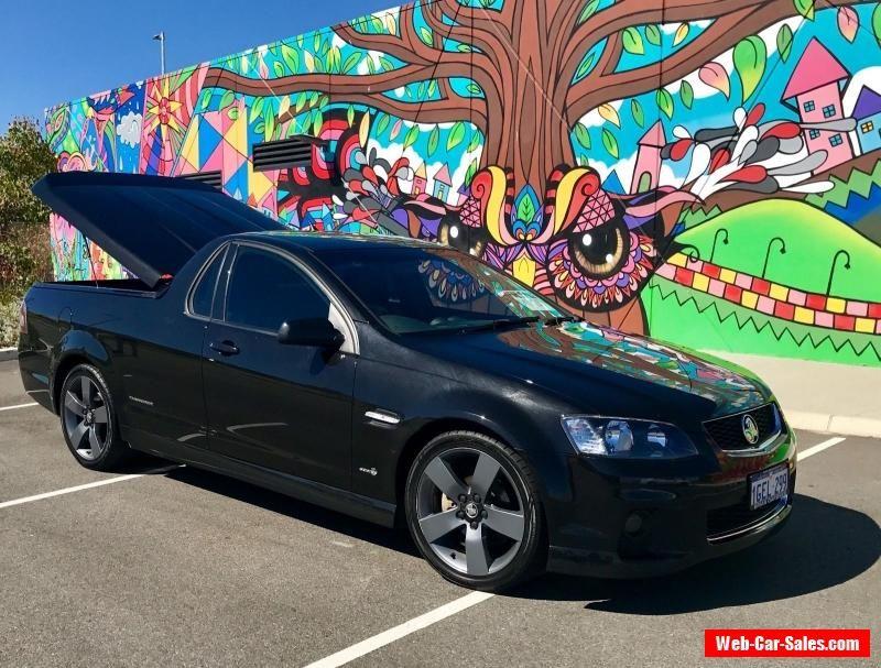2012 Phantom Black Holden Ute Sv6 Thunder Ve Series Ii Manual