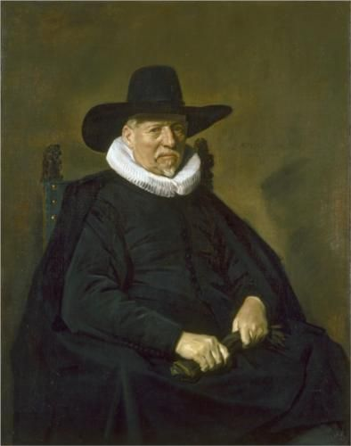 Portrait of a Man - Frans Hals