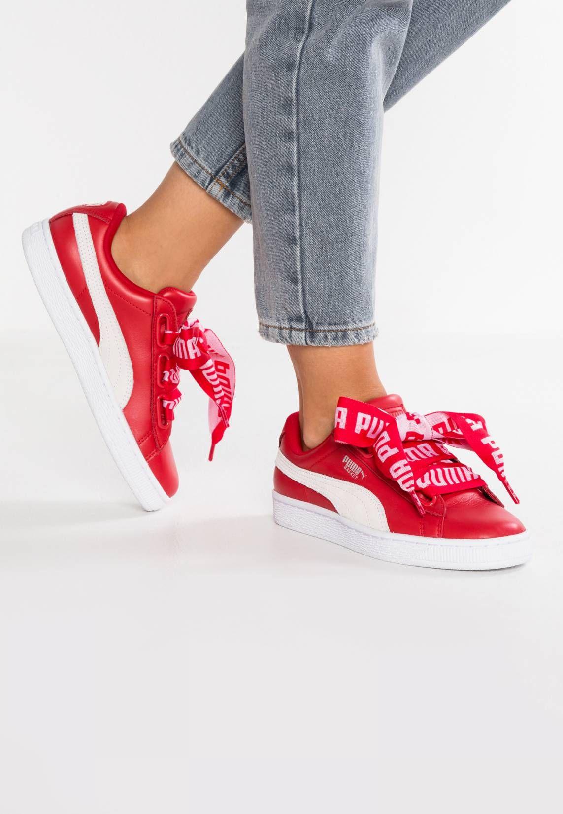 Puma Basket Heart DE W chaussures toreador/white 32ySwb