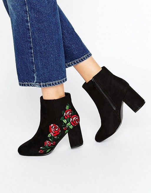 54603eec5185 Discover Fashion Online Floral Ankle Boots