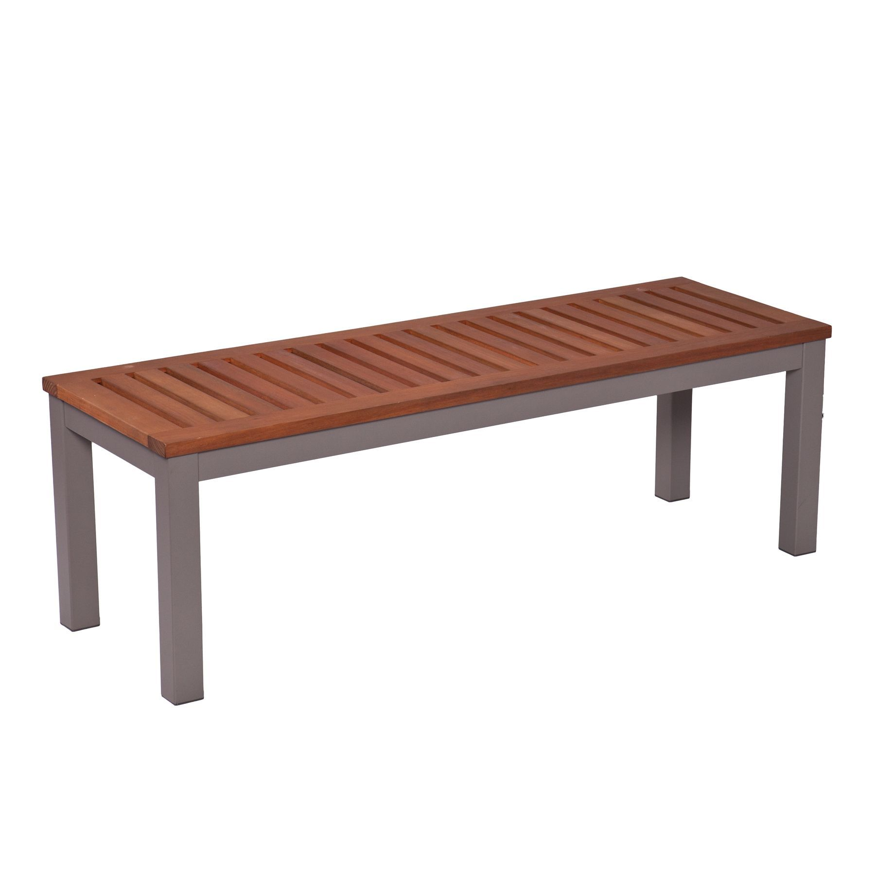 Upton Home Encore Outdoor Backless Bench Gray Overstock