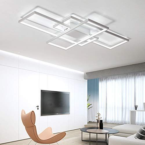 Plafonnier Led De Salon A Intensite Variable 3000k 6500k En