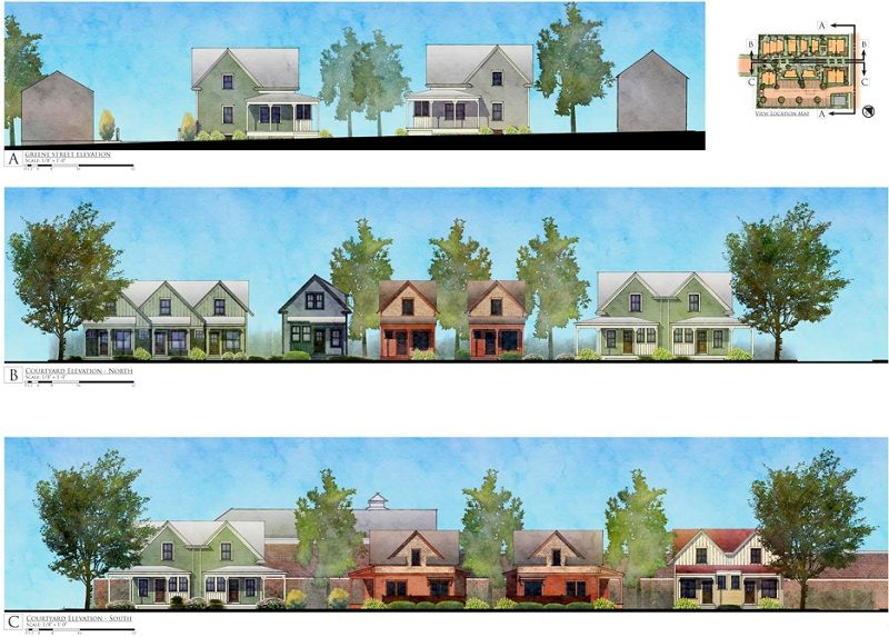 East Greenwich Rhode Island Cottages On Greene S Innovative Approach To Infill Hud User Cottage Small House Cluster House