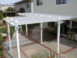 I want to make my back patio look amazing. I'm sure that adding a cover will do the trick. This weekend, my husband and I are going to look at different vinyl patio covers.
