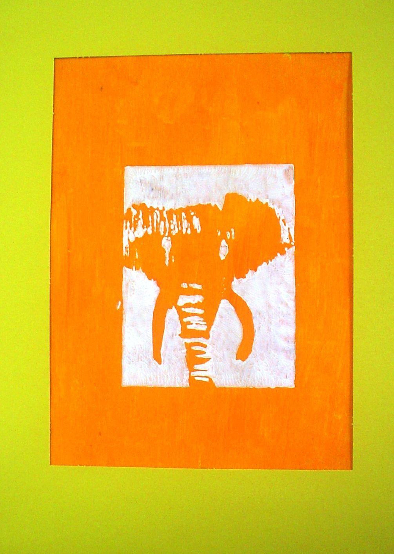 Endangered Animal Relief Prints Endangered species art