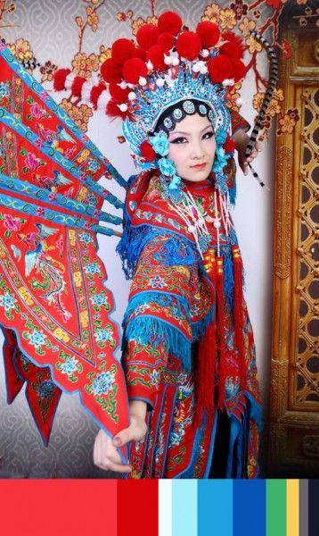 Colors & Fashion. Cina
