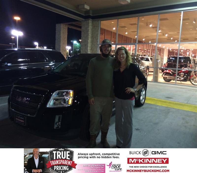 Happy Anniversary To Kim On Your Gmc Terrain From Brett Stein At