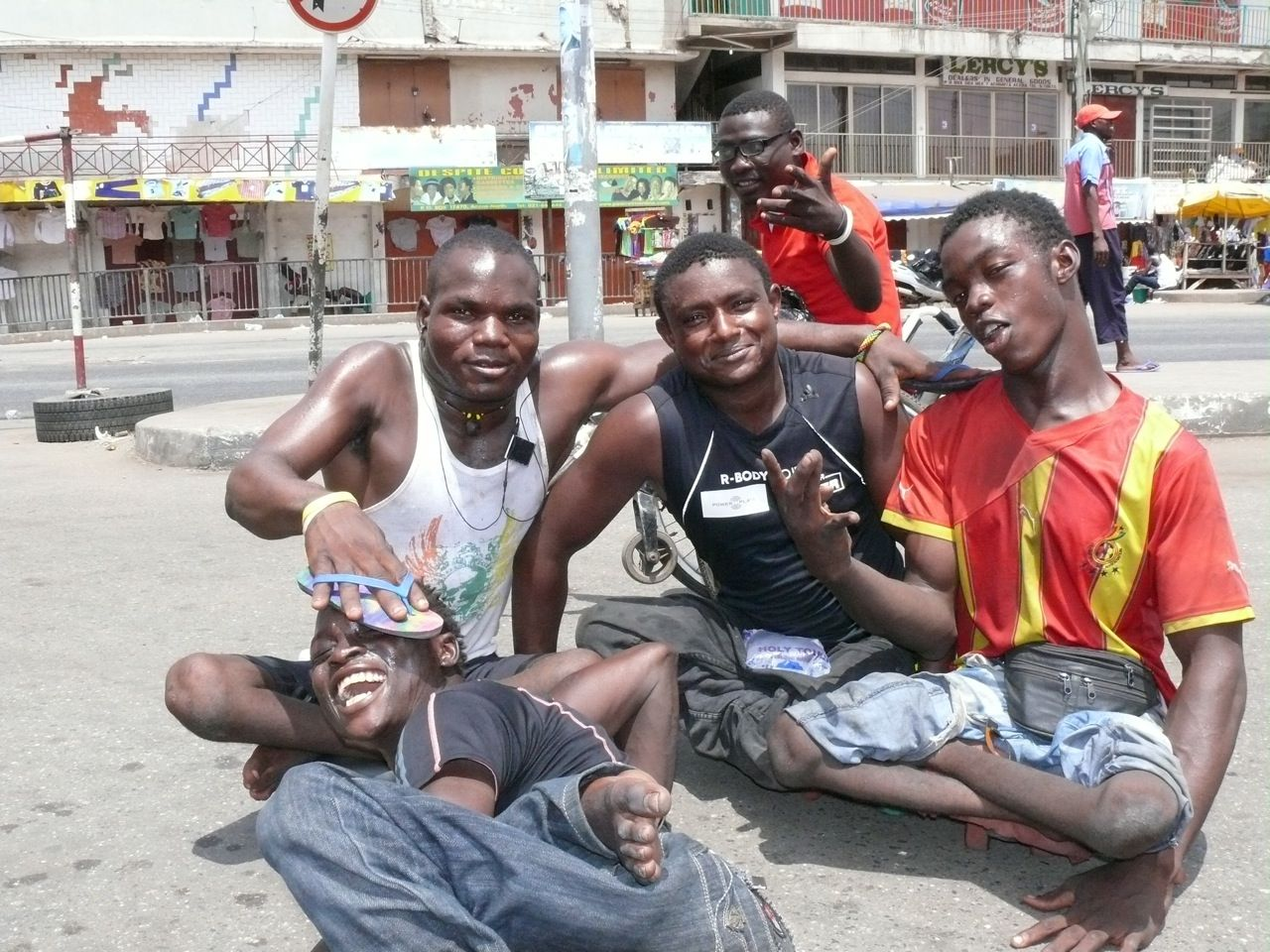 """@Rollaballmovie   A wonderful documentary about Ghana's Skate Soccer team the """"Rolling Rockets"""". This inspiring documentary provides insight into the lives of these polio survivors, their aspirations and daily battle to survive. Like In Support of African Films."""