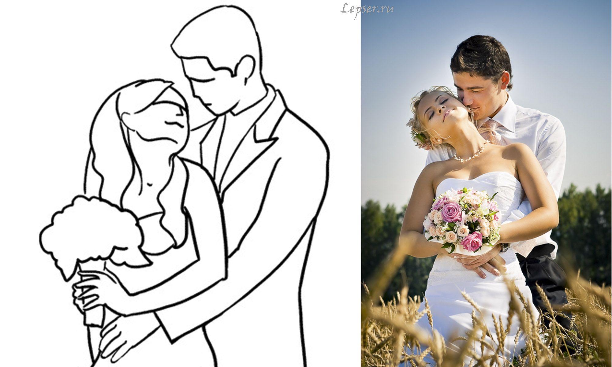 неоднократно выигрышные позы для свадебной фотосессии соха имеют одно