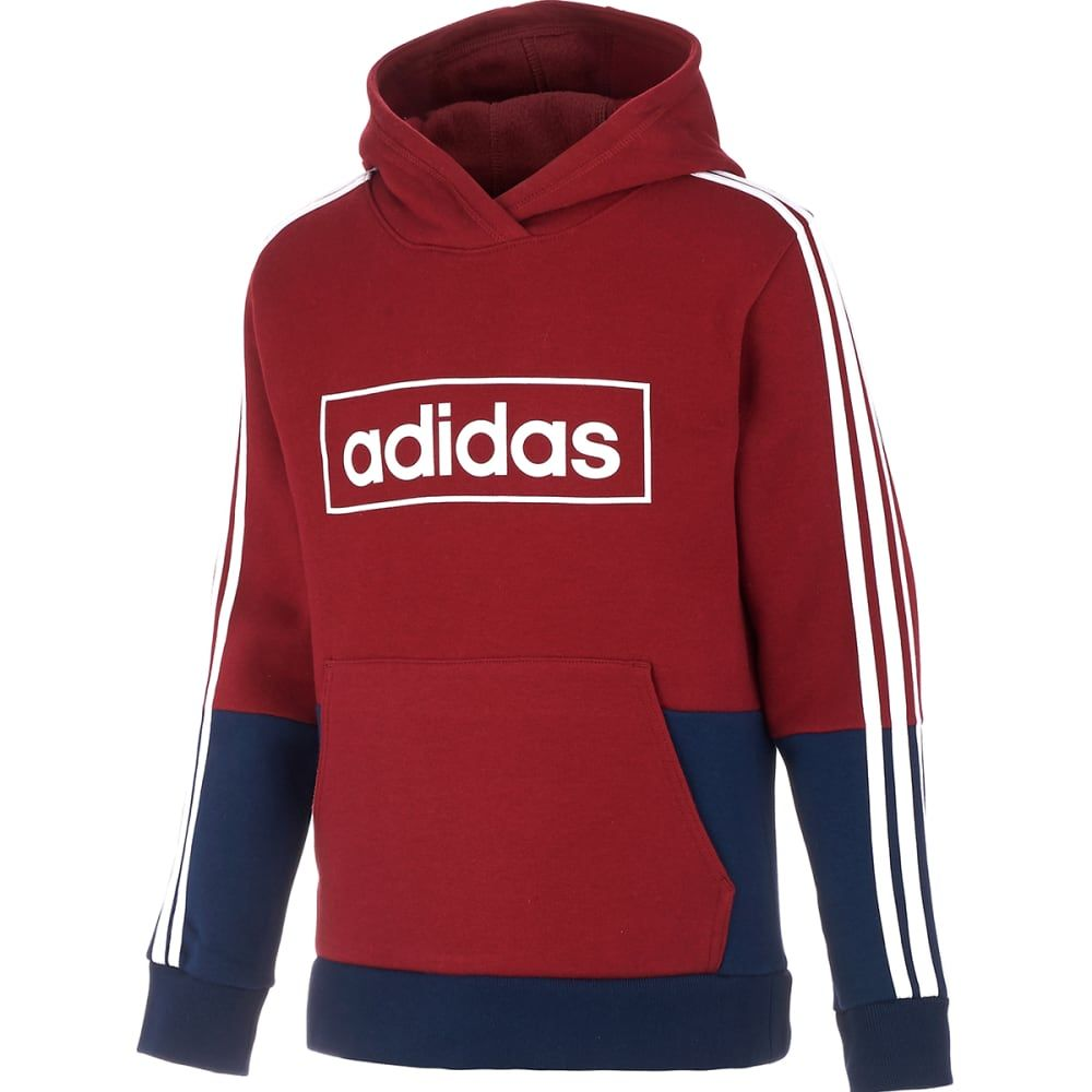Adidas Big Boys Colorblock Pullover Hoodie Bob S Stores Sweatshirts Hoodie Hoodies Sweatshirts [ 1000 x 1000 Pixel ]