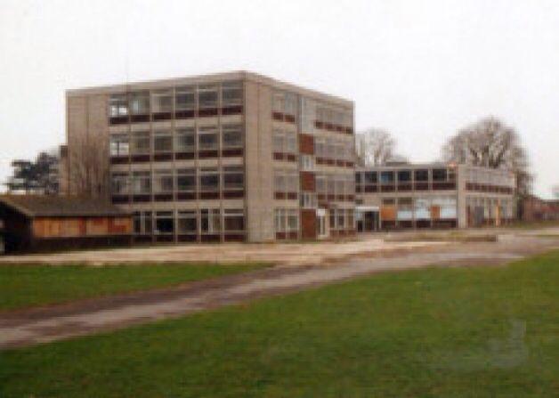 Oak park school Havant . Now demolished.