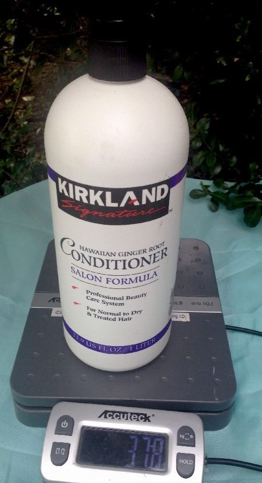 Kirkland Signature Hawaiian Ginger Root Conditioner Salon Formula 33.9 Fl Oz  | eBay