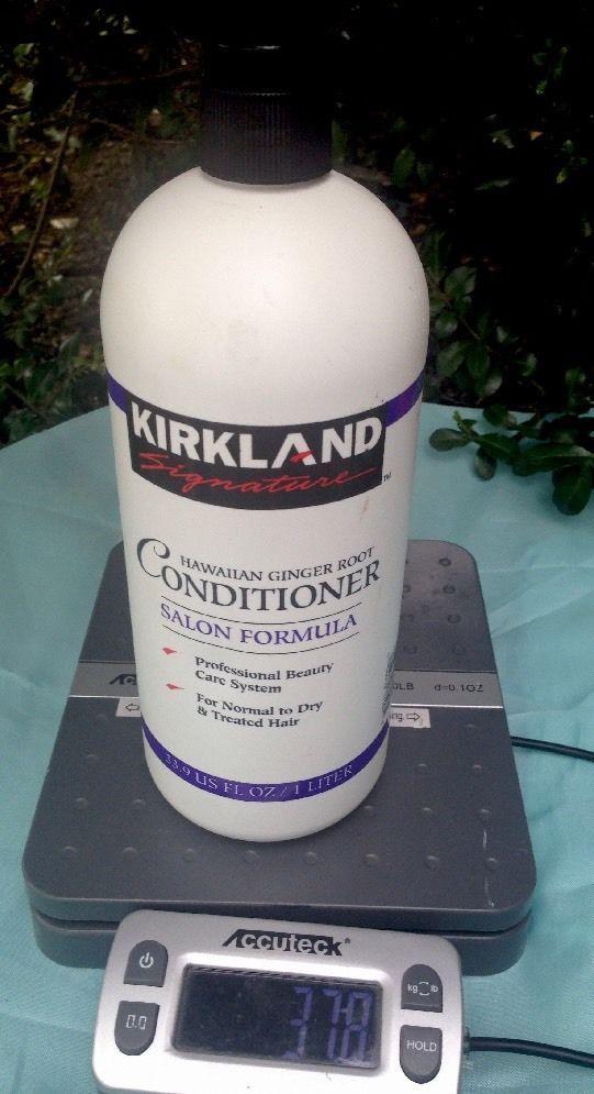 Kirkland Signature Hawaiian Ginger Root Conditioner Salon Formula 33.9 Fl Oz  | eBay