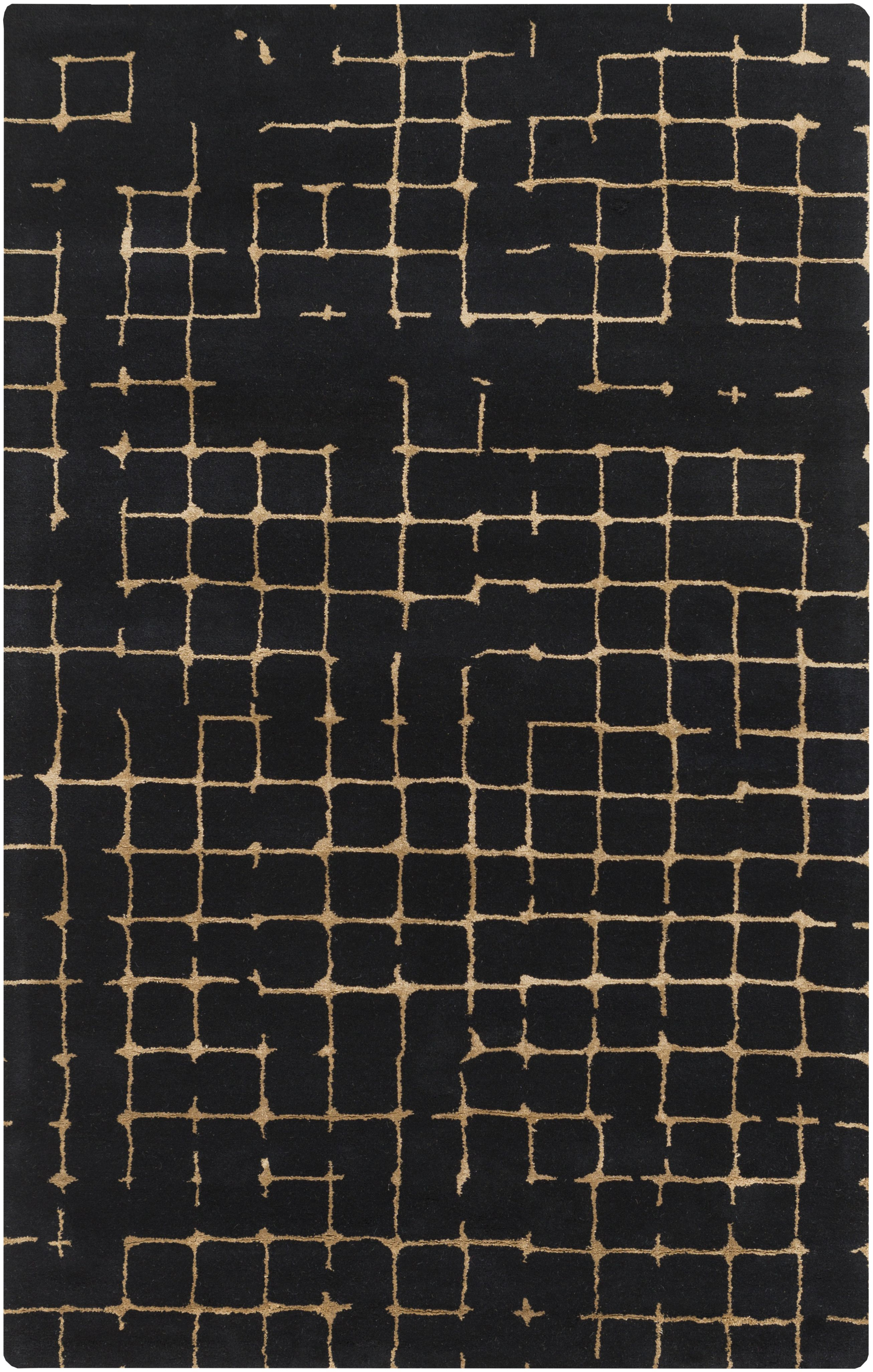 newest 6a685 fe916 Dark and moody rug from designer  MikeFarrell has a very masculine feeling.  From Surya. (PUT-6000)