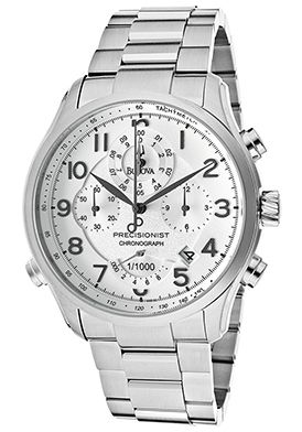 Men's Precisionist Chronograph Silver Dial Stainless Steel $279