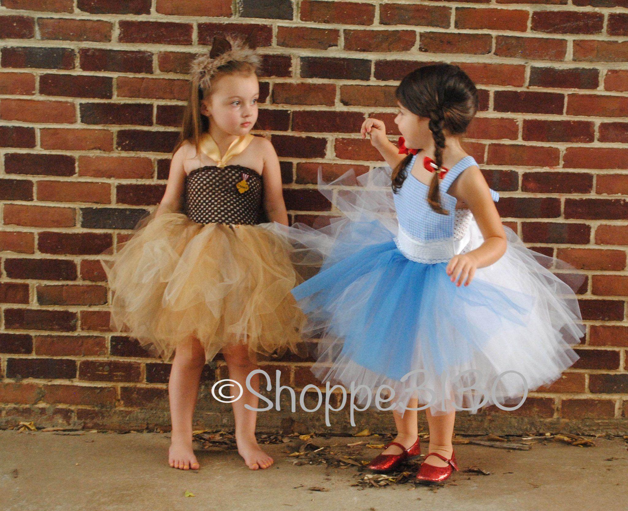 6afddaf961af Wizard of Oz Inspired Tutu Dress Costume - Dorothy, Tin Man, Lion,  Scarecrow or Glenda - Shoppe3130