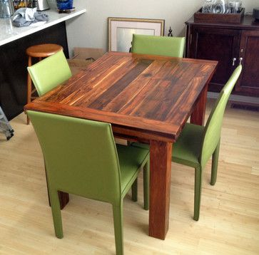 Teak Dining Table 36 X 48 2 Thick Modern Dining Tables 2014
