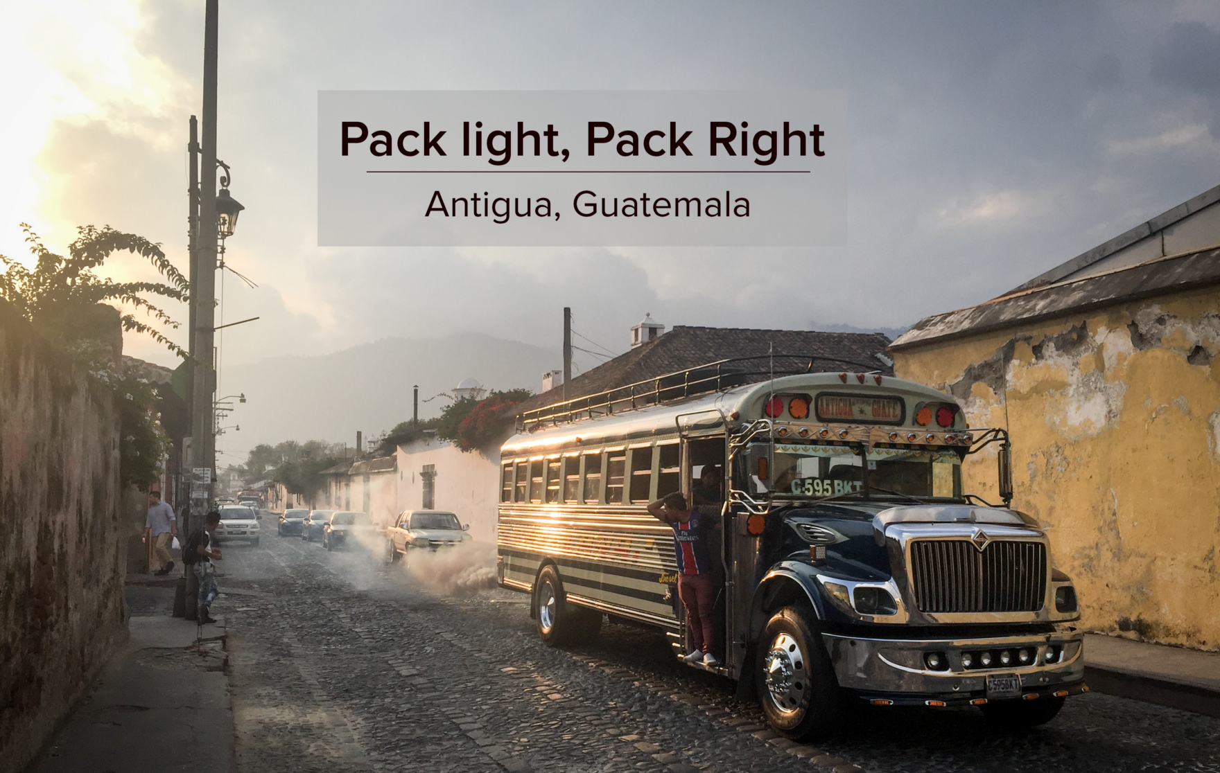 Perfect Packing List For Guatemala