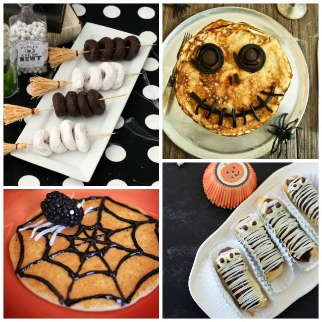 13 Fun Halloween Breakfast Ideas #halloweenbreakfastforkids