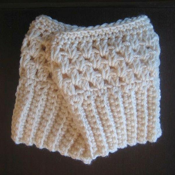 Free Crochet Boot Cuffs Pattern Modern Crochet Patterns Modern