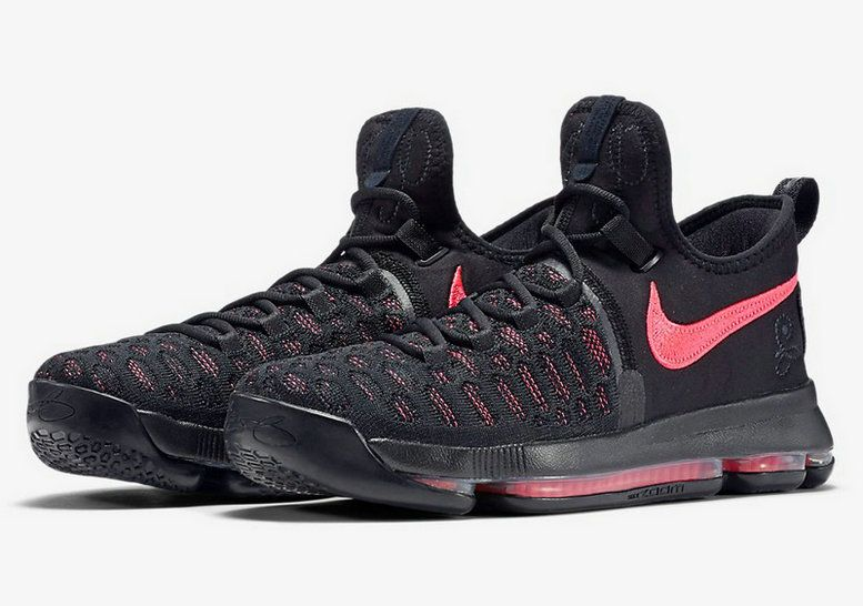 6d9e2651e16a NIKE KD 9 AUNT PEARL GLOBAL RELEASE DATE JANUARY 28TH 2017 882048-060 Black  Hot Punch