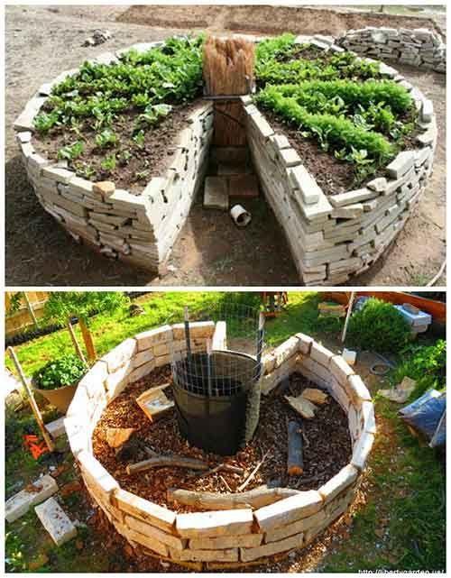 How To And Why You Need To Build A Keyhole Garden Build Garden Gardenlandscapedesignhowt Garten Garten Landschaftsbau Garten Ideen Hinterhof