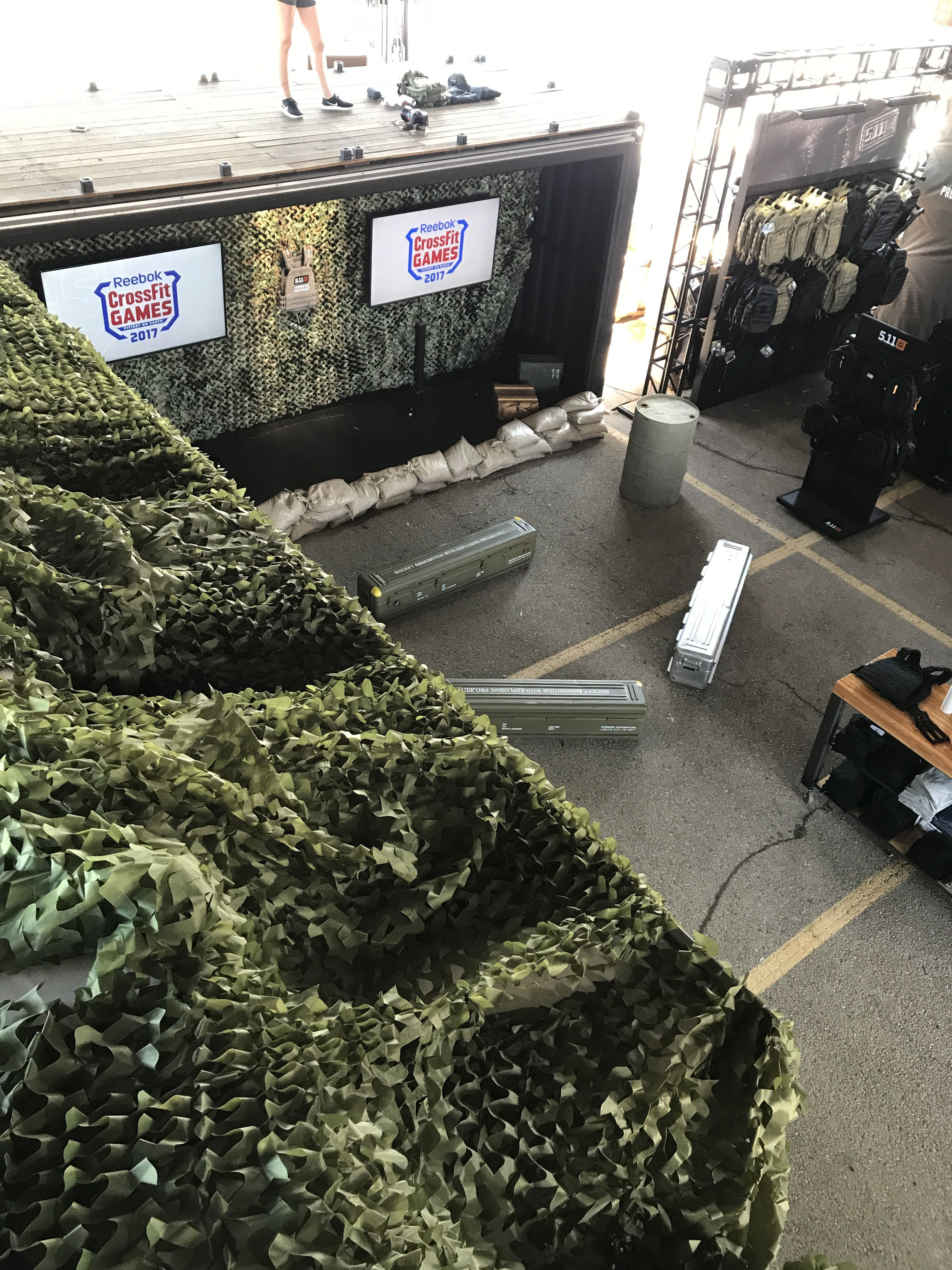 511Tactical Tent at the CrossFit Games in Madison, WI