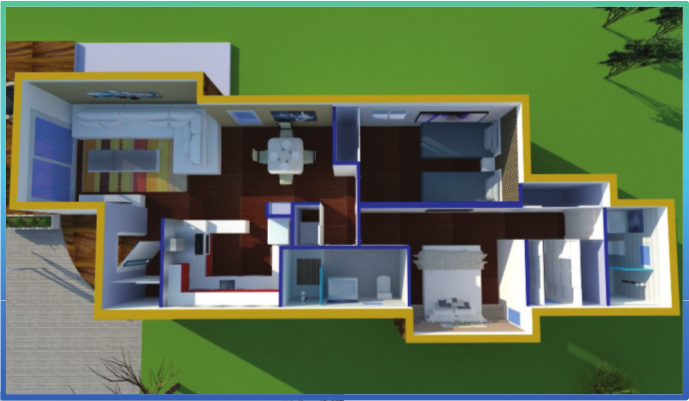 Casa contenedor de 60m2 casas pinterest casas - Contenedor maritimo casa ...