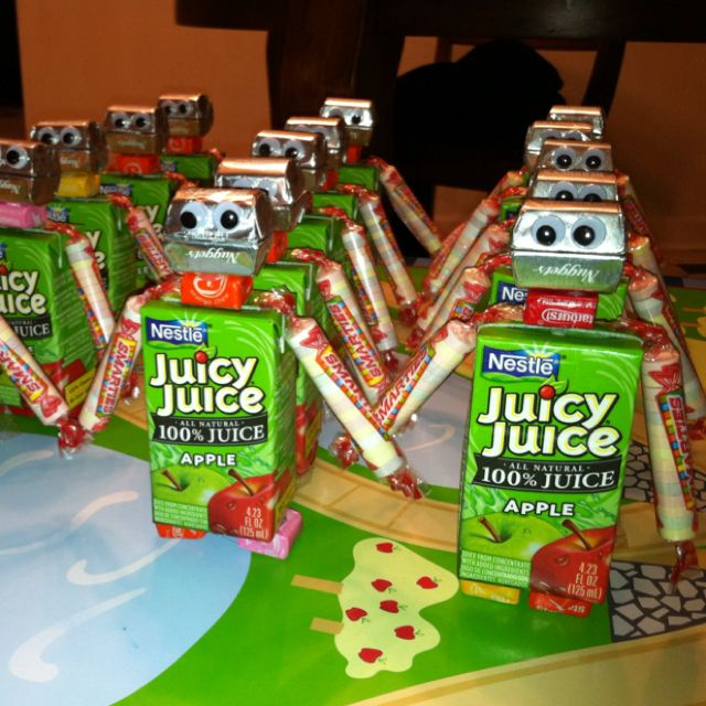 Robots! A Fun Snack Idea! And A Great Kids Party/sleepover
