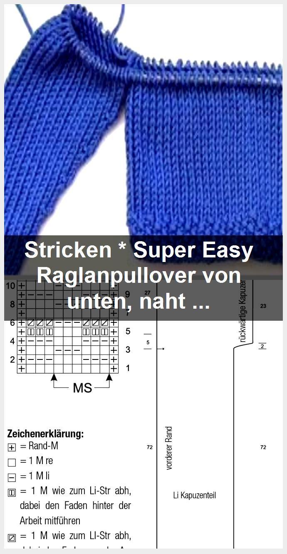 Photo of Stricken * Super Easy Raglan-Pullover von unten, nahtlos | Mit eliZZZa stricken und häkeln