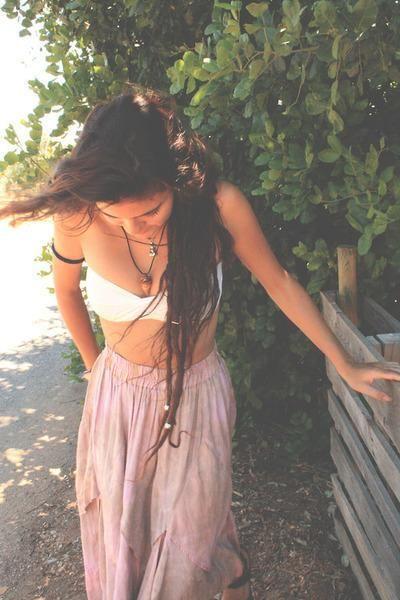 Gypsy clothes, gypsy hair . . .