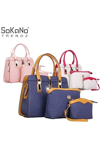 Sokano Trendz 012 Tote Bags Set Of 3 Blue Online At Lazada Malaysia Prices And Promotional On All Free Shipping