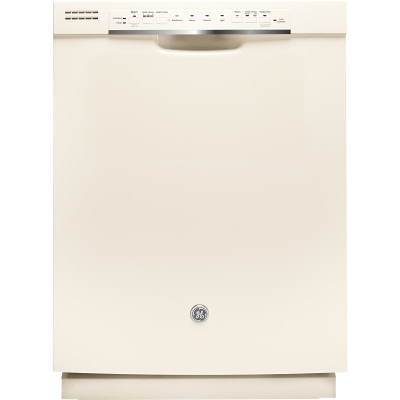 Ge Gdf570sj 25 Inch Wide 16 Place Setting Energy Star Rated Built In Dishwasher Bisque Dishwashers Dishwasher Built