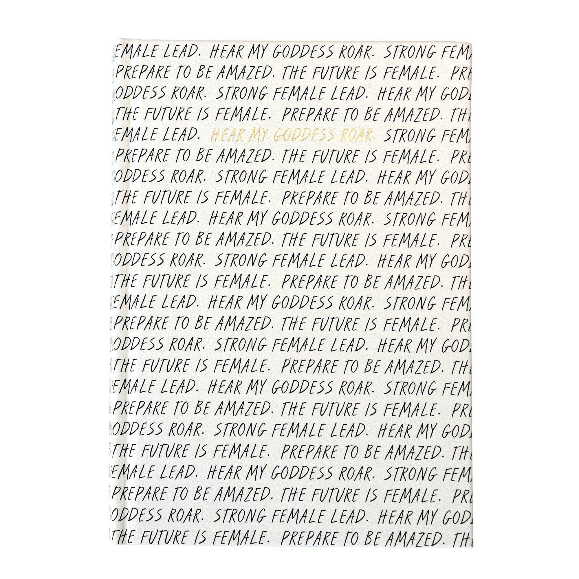 College Ruled Script Composition Notebook Black/White - Gartner Studios
