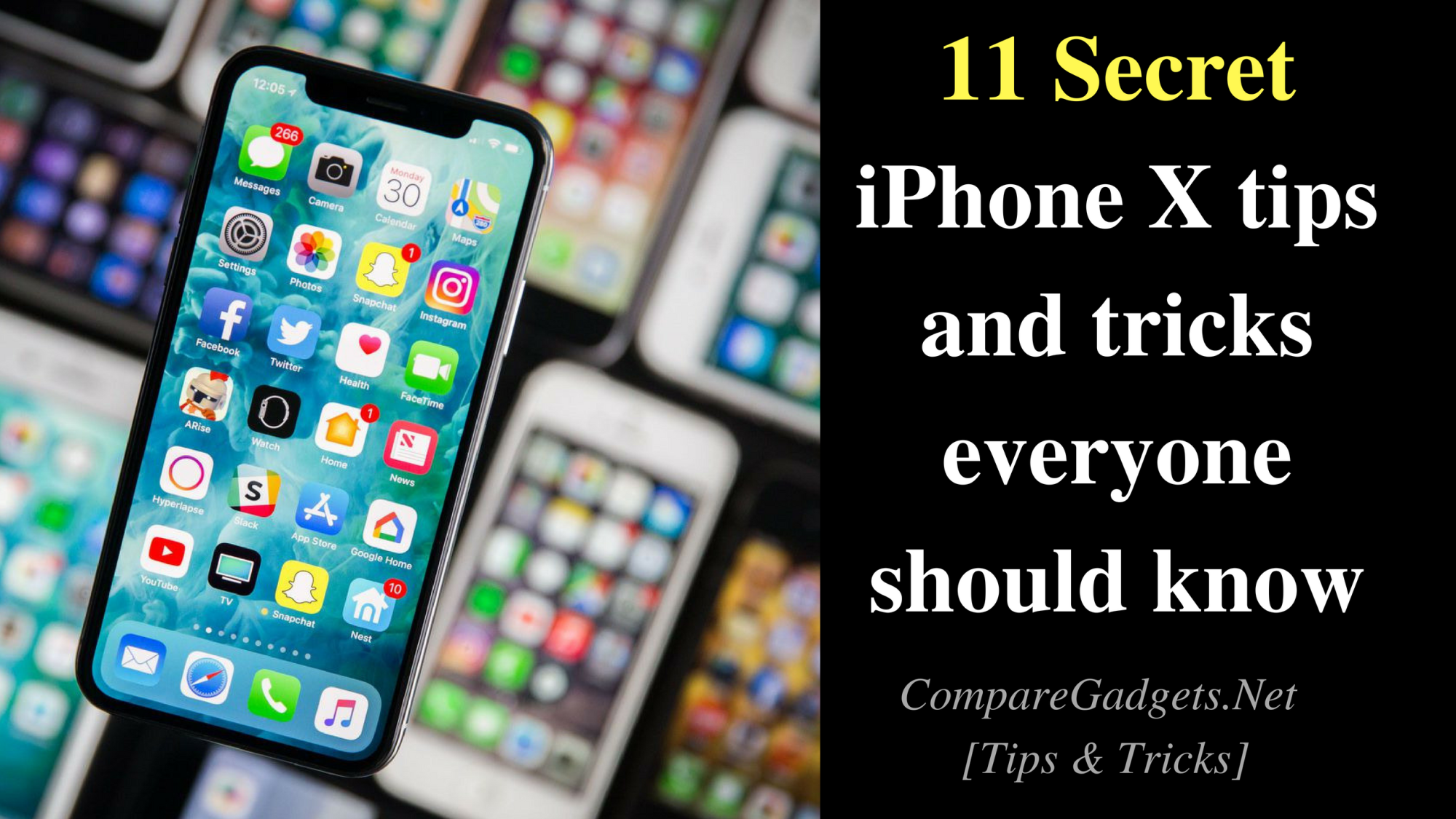 11 Best Secret Iphone X Tips And Tricks Everyone Should Know Compare Gadgets Iphone Secret Trick