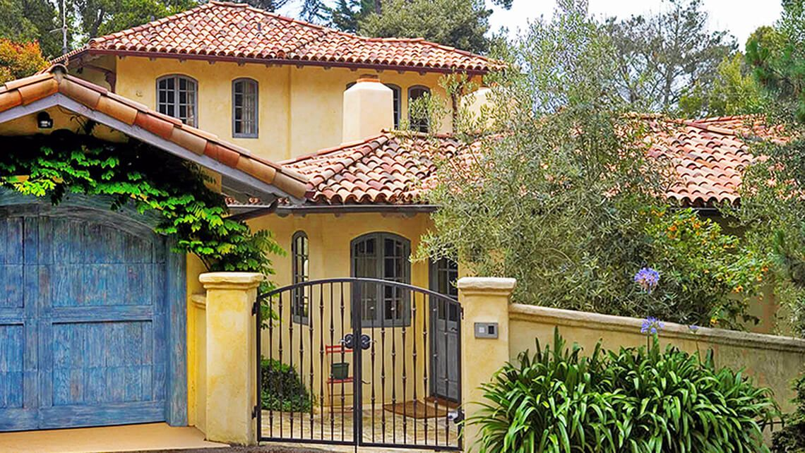 Custom tile roofing by Scudder Roofing Cheap roofing