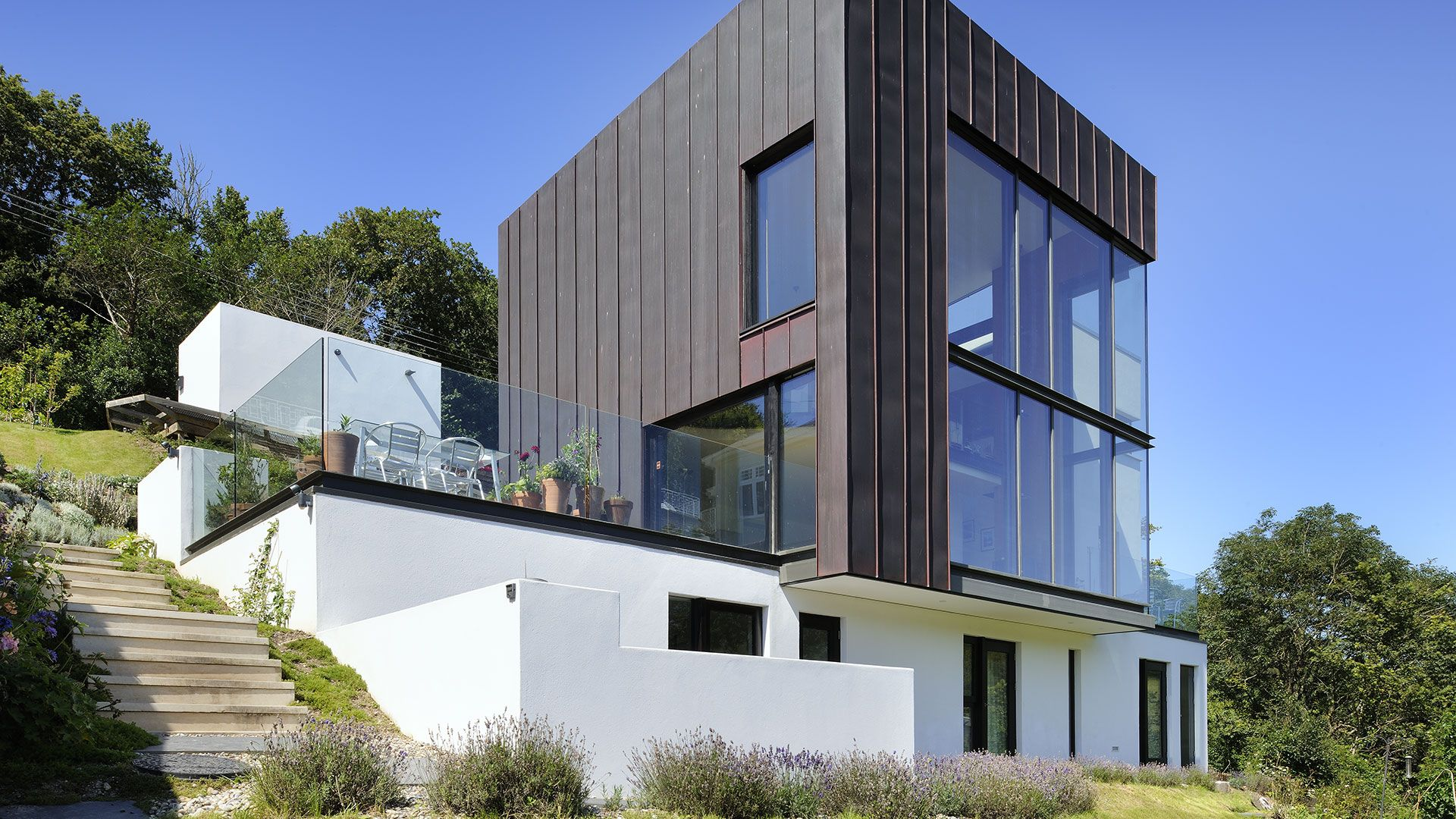 Top Residential Architects Stan Bolt Architect The Green House Newton Ferrers Devona
