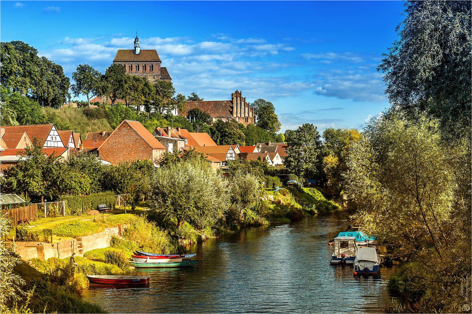 Havelberg, Domblick | Die schönsten orte deutschlands