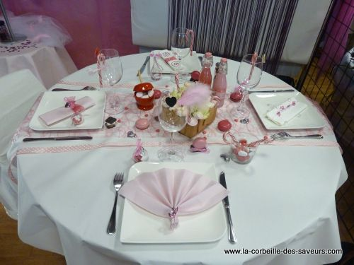 D coration de table th me gourmandise mariage for Decoration theme gourmandise